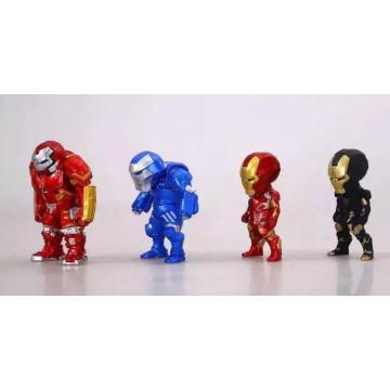 Personalizada mini articulada figura de ação crianças boneca aprendendo brinquedos de plástico