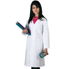 Vente en gros Custom Printed Logo Medical Lab Coat