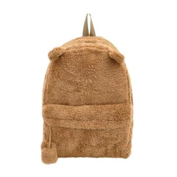 CUTE BEAR PLUSH BACKPACK-0