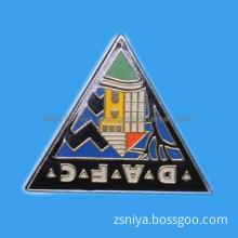 Metal Enamel Abstract Pin Badge