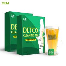 Etiqueta privada china Fitne Lemon Mejor té adelgazante a base de hierbas para perder peso / Fácil Té verde Slim Slim Slim Fit Fit