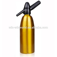 1000ML Aluminium Home Gold Soda Siphon