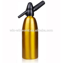 Sifão da soda do ouro da casa do alumínio 1000ML