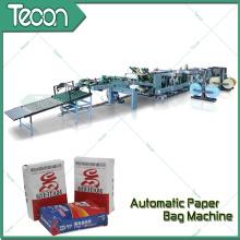 Ahorro de energía Cuatro colores Impresión Bolsa de papel Instalaciones de fabricación