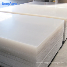 China Supplier plastic 4 x 8 clear acrylic 3mm solid surface sheet