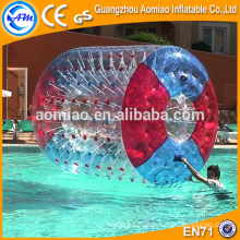 CE certificó la bola gigante del rodillo del agua de la burbuja para la venta