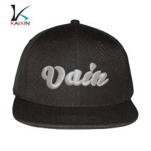 Xiongxian Kaixin Cap Co., Ltd Customize Made Embroidery Cotton Snapback Hat Wholesale Snap Back Cap Hip Hop Caps
