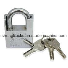 Chrome chapeado Atom Shackle Protected Padlock (ASP)