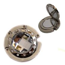 Metal Mirror Purse Hook, Bag Hanger, Bag Holder