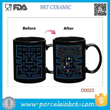 Labyrinth Game Heat Sensitive Color Changing Sublimation Mug