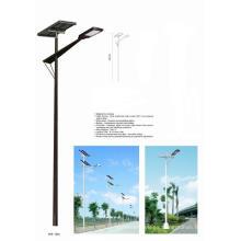 Sistema de control digital 90W al aire libre 8 horas al anochecer Luz de calle solar