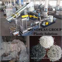 Línea de peletización de PE / Línea de peletización de película de PP / PE / Línea de granulación de PE / Línea de reciclaje de PE /