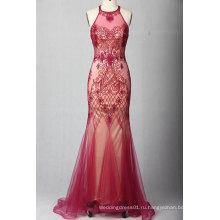 Русалка Красный Вечернее Платье