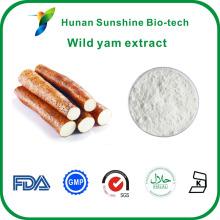 Vente chaude Naturel Lycium barbarum polysaccharides 6%, 8%, 10%, 16%, 20%, 95% Diosgenine Dioscorea Villosa Extrait d'igname sauvage chinois