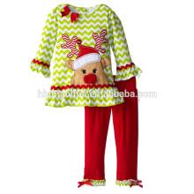 OEM servicio kids boutique 2016 a juego pijamas familiares manga larga a rayas de dos piezas conjunto pijamas de vacaciones para niños