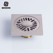 Brass floor drain bathroom shower insert stopper