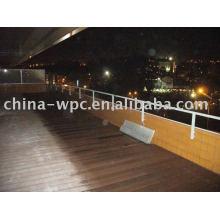 WPC Balkon hohlen deck