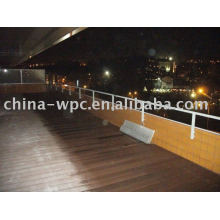 wpc balcony hollow deck