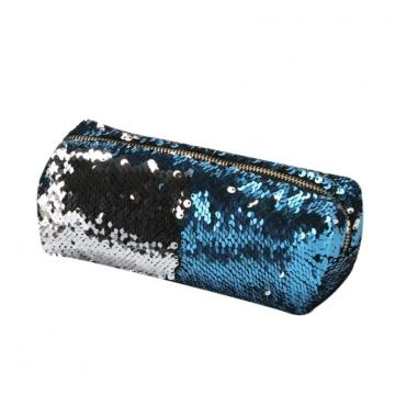 DOUBLE COLOR BLING SEQUIN PENCIL CASE-0