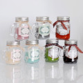 Lilin Paraffin Home Fragranced Glass Jar Lilin