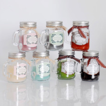 파라핀 왁스 홈 Fragranced Glass Jar Candle