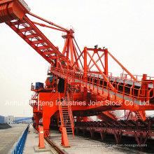 Sistema transportador / Transportador de cinta / Transportador de banda fijo para puerto