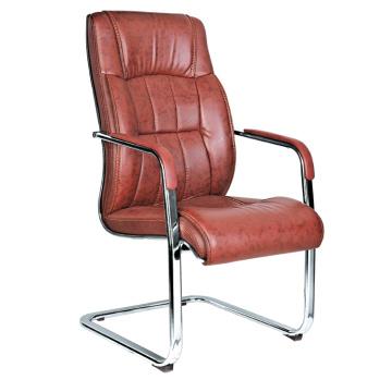 Дизайн дизайн среднего назад современный коричневый кожаный стул описание