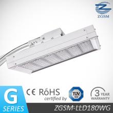 180W CE RoHS TUV Dlc LED-Straßenlaterne