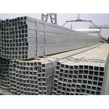 Professional Galvanized Steel Square Pipe Tubing