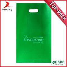 Die Cut Plastic Shopping Bag Reusable