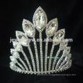 Cabelo acessórios cabelo jóia rhinestone pageant coroa coroas atacado e tiaras
