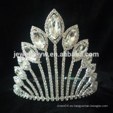 Accesorios para el cabello joyería de pelo joyería coronas de desfile coronas al por mayor y tiaras