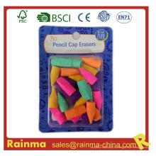 Hot Selling Nuevos Productos Pencil Cap Eraser