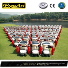 electrical solar golf cart