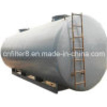 Top Customizável transformador de armazenamento de óleo tanque horizontal