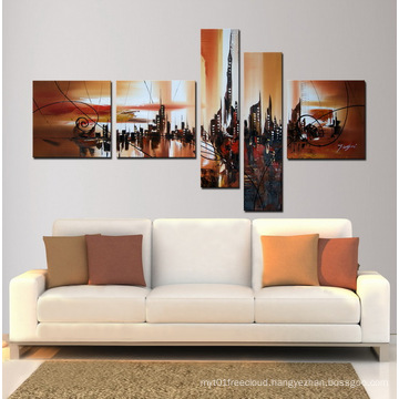 Group Building Canvas Art Painting