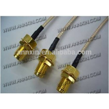 Popular hotsell sma male right angle for rg142 cable