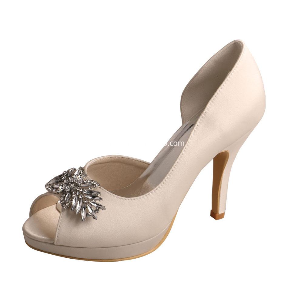 Bridal Shoes Ivory