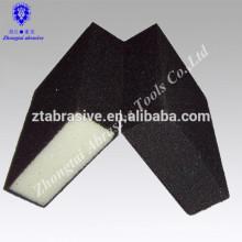Schaumschleifschwamm oder Schleifblock mittlerer Dichte