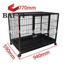 Fábrica de gaiolas para cães com grandes rodas