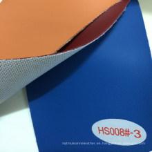 Tela de tapicería de cuero de imitación (HS008 #)
