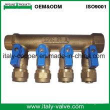 OEM qualidade latão forjado bola manifold válvula (AV9062)