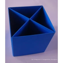 Boîte à papier personnalisée - Boîte d'affichage pour les marchés