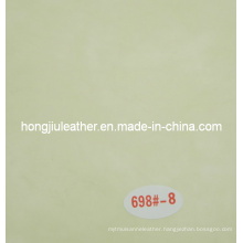 Light Green Synthetic Leather for Sofa or Soft Bed