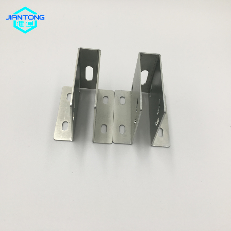 custom made zinc plated sheet metal bracket stamping (6)