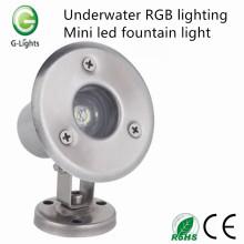 Unterwasser RGB Beleuchtung Mini geführtes Brunnenlicht