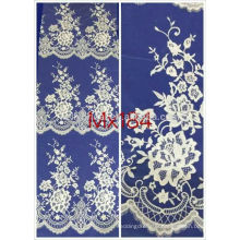 100% cotton wholesale hot sell embroidery fabric lace