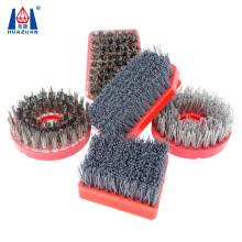 Hot Selling Diamond Carborundum Abrasive Brush For Polishing Stones
