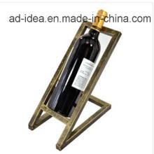 Présentoir durable d'exposition en métal de vin / présentoir en métal de vin