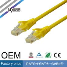 SIPU muestras gratis de alto rendimiento 1 m 2 m 3 m 5 m cat5e cat6 cat6a utp patch cord price